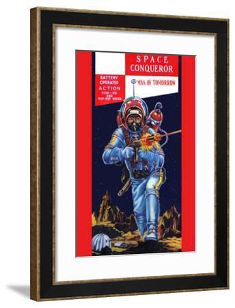 Space Conqueror--Framed Art Print