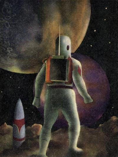 Space Exploration Science-fiction Artwork-CCI Archives-Photographic Print