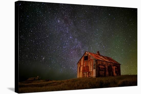Space House-Iurie Belegurschi-Stretched Canvas Print