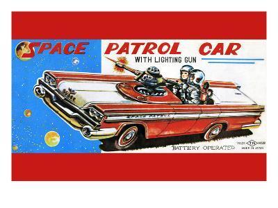 Space Patrol Car--Art Print