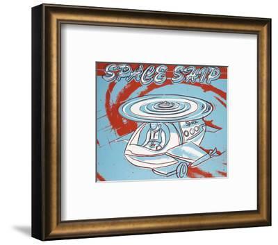 Space Ship, 1983-Andy Warhol-Framed Art Print