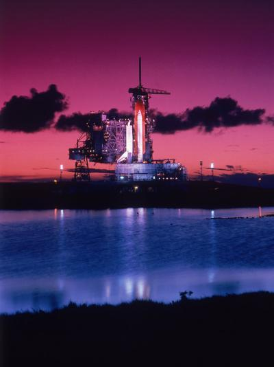 Space Shuttle Atlantis-Lonnie Duka-Photographic Print