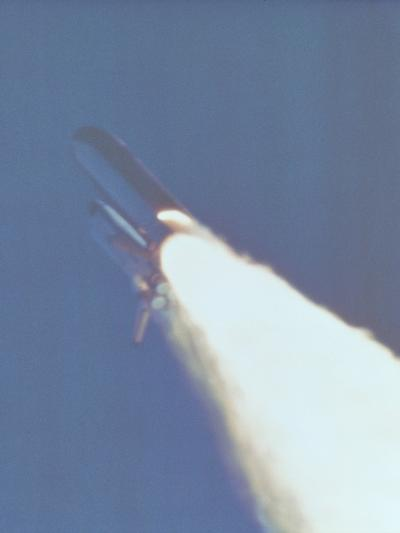 Space Shuttle Challenger Disaster--Photo