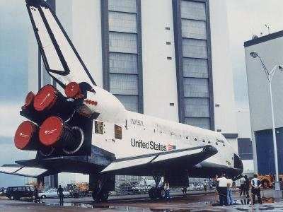 Space Shuttle Columbia on Earth, 1980S--Photographic Print