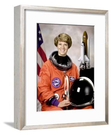 Space Shuttle Commander Eileen Collins, First Woman to Command Space Shuttle Mission, Oct 30, 1998
