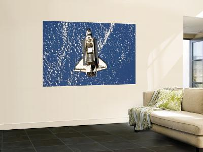 Space Shuttle Discovery-Stocktrek Images-Wall Mural