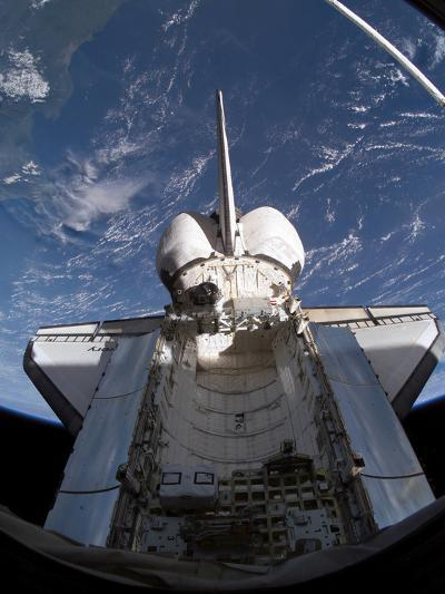 Space Shuttle Discovery-Stocktrek Images-Photographic Print