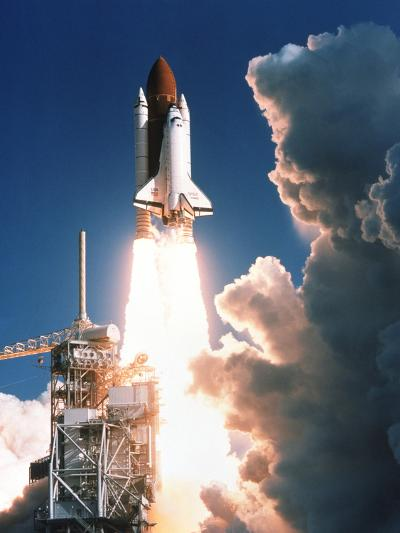 Space Shuttle Launch--Photographic Print