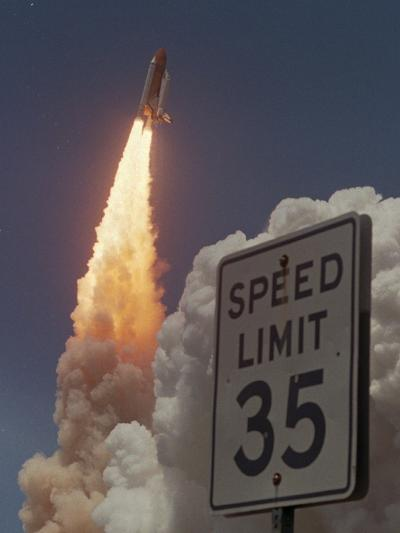 Space Shuttle-Chris O'Meara-Photographic Print