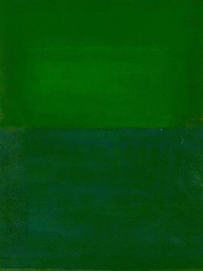 Space, Time, Motion, Green, 2010-Izabella Godlewska de Aranda-Giclee Print