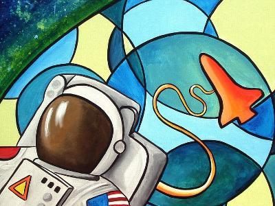 Space Walk-Cindy Thornton-Art Print
