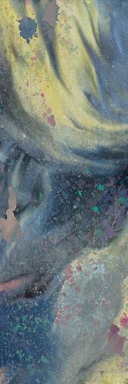 Space Yellow 1-Kimberly Allen-Art Print