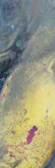 Space Yellow 2-Kimberly Allen-Art Print