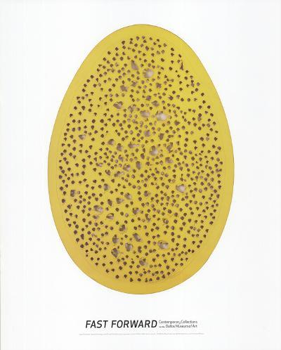 Spacial Concept, The End of God-Lucio Fontana-Art Print