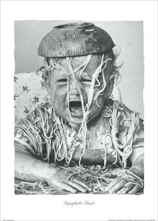 Spaghetti Head-Unknown-Art Print