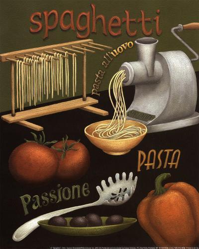 Spaghetti-Daphne Brissonnet-Art Print