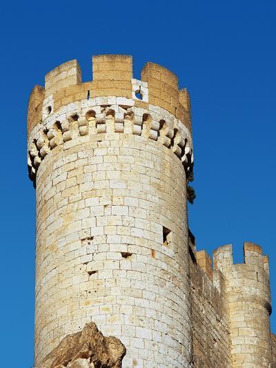 Spain, Afiel, Castle, Tower--Giclee Print