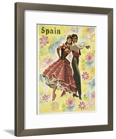 Spain and Flowers