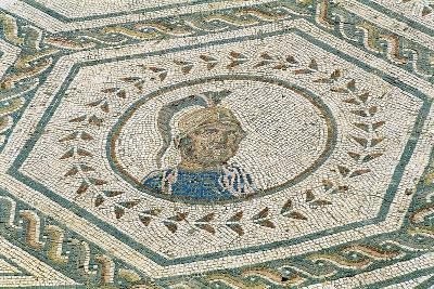 Spain, Andalusia, Carmona, Roman Mosaic in House of Planetarium, Detail--Giclee Print