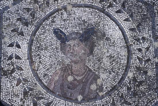 Spain, Andalusia, Carmona, Roman Mosaic in House of Planetarium, Detail--Giclee Print