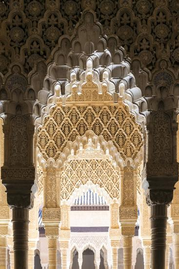 Spain, Andalusia, Granada. the Alhambra-Matteo Colombo-Photographic Print