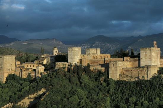 Spain, Andalusia Region, Granada Province, Granada, Alhambra Palace--Giclee Print