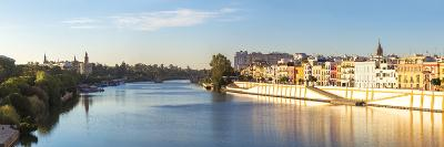 Spain, Andalusia, Seville. Triana District at Sunrise with Guadalquivir River-Matteo Colombo-Photographic Print
