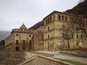 Spain, Anguiano, Monastery of Our Lady of Valvanera, Exterior