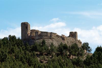 Spain. Aragon. Calatayud. Castle and Walls of the Complex of Castle of Calatayudm--Photographic Print