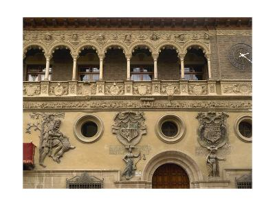 Spain, Aragon, Tarazona Town Hall--Giclee Print