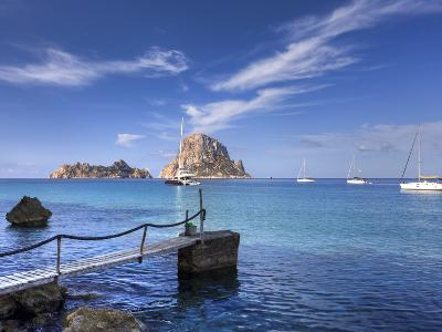 Spain, Balearic Islands, Ibiza, Cala D'Hort Beach-Michele Falzone-Photographic Print