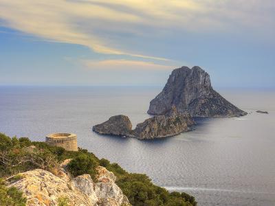 Spain, Balearic Islands, Ibiza, Es Vedra Rocky Island-Michele Falzone-Photographic Print