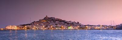 Spain, Balearic Islands, Ibiza, View of Ibiza Old Town (UNESCO Site), and Dalt Vila-Michele Falzone-Photographic Print
