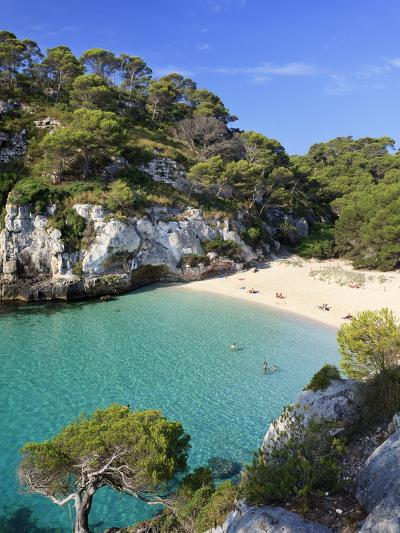 Spain, Balearic Islands, Menorca, Cala Macarelleta-Michele Falzone-Photographic Print