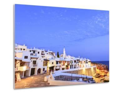 Spain, Balearic Islands, Menorca, Fishing Village of Binibequer Vell-Michele Falzone-Metal Print
