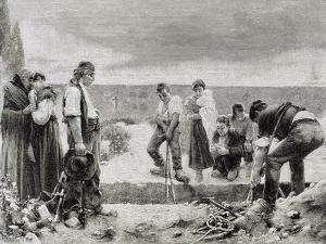 Spain, Burial,