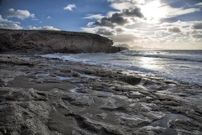 Spain, Canary Islands, Fuerteventura, Beach, Sea-Andrea Haase-Photographic Print