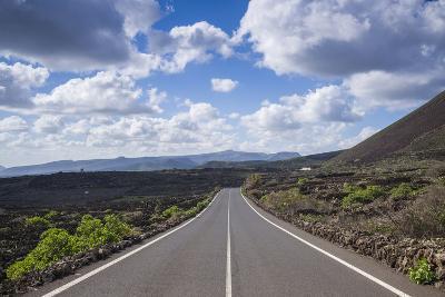 Spain, Canary Islands, Lanzarote, El Capitan, Lz-201 Road-Walter Bibikow-Photographic Print