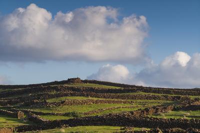 Spain, Canary Islands, Lanzarote, Guatiza, Northern Landscape-Walter Bibikow-Photographic Print