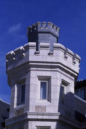 Spain, Cantabria, Santander, Magdalena Royal Palace, Tower--Giclee Print