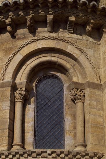 Spain, Castile and Leon, Fromista, Church of St Martin De Tours, Apse Detail--Giclee Print