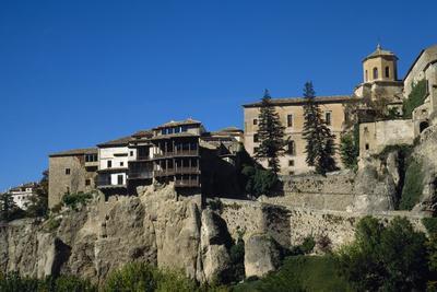 Spain, Castile-La Mancha, Cuenca, Hanging Houses, 15th Century--Photographic Print