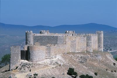 Spain, Castile-La Mancha, Guadalajara, Jadraque, Jadraque Castle, also known as 'Castle of El Cid'--Giclee Print