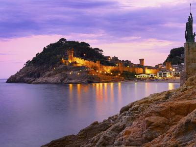 Spain, Catalonia, Costa Brava, Tossa De Mar-Shaun Egan-Photographic Print