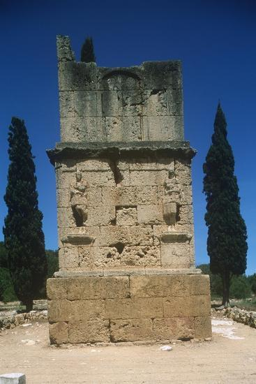 Spain, Catalonia, Tarragona, Tower of the Scipios--Giclee Print