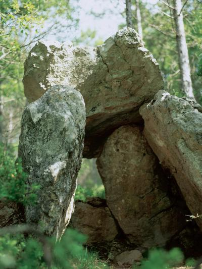 Spain, Dolmen of the Oliva, Neolithic, 2000-1500 BC--Photographic Print