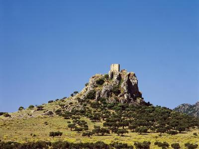 Spain, Extremadura, Almorchon, Castle--Giclee Print