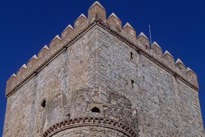 Spain, Extremadura, Castle of Nogales, Fortified Wall--Giclee Print