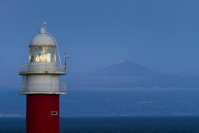 Spain, Faro Punta De San Cristobal Lighthouse-Walter Bibikow-Photographic Print