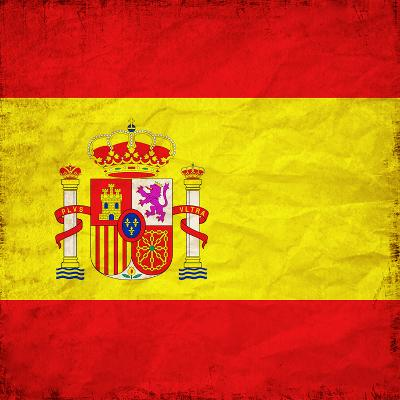 Spain Flag-Wonderful Dream-Art Print